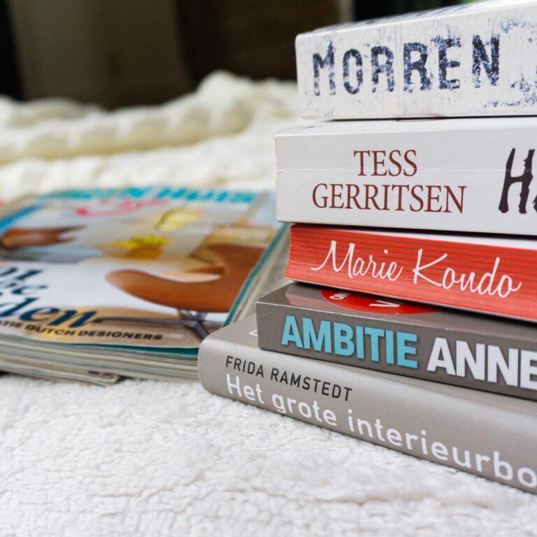 Dé manier om gedachten te verzetten en te ontspannen; mezelf verliezen in een boek of tijdschrift.